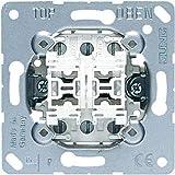 Jung Schakelaar & Drukknop Multi-Sswitch dubbele knop 532-4U