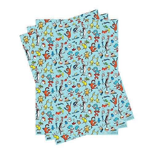 Geschenkpapier mit Dr Seuss-Motiv, ()