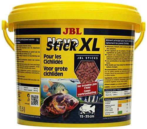 JBL Alleinfutter für große fleischfressende Buntbarsche, Sticks 5,5 l, NovoStick XL 30282