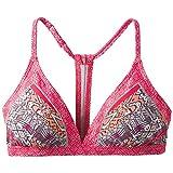prAna–Damen Aleka Top, damen, Carmine Pink Marrakesh, Large