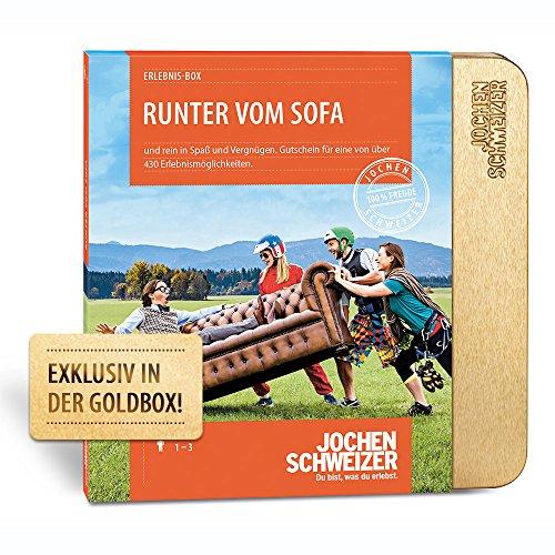 Produktbild Erlebnis-Box 'Runter vom Sofa'