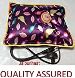 #2: Jaipuri Haat Electric Heat Bag Hot Gel Bottle Pouch Massager Pain Reliefer in Rectangle Shaped (Assorted Design & Color)