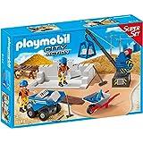 PLAYMOBIL 6144 - Super Set Baustelle
