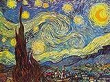 1art1 50776 Vincent Van Gogh - Die Sternennacht, 1889 Poster Kunstdruck 80 x 60 cm