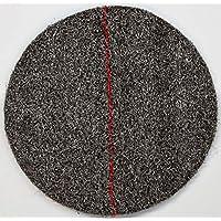 "DISCO CRISTALIZADOR DE LANA DE ACERO PREFABRICADO cristalizar, pulir, limpiar (11""/27cm, Rojo)"