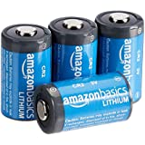 AmazonBasics - Pilas de litio CR2 de 3 V, Pack de 4