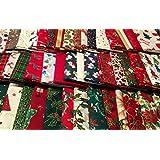 10,16 cm/10cms 100% plazas de retales de tela de algodón paquete Manualidades Patchwork - encanto 40 piezas