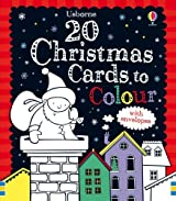 20 Christmas Cards To Colour by Candice Whatmore (September 21,2010)