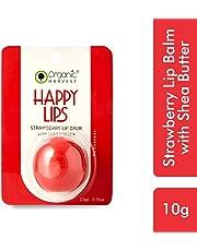Organic Harvest Lip Balm, Strawberry, 10g
