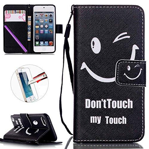 ipod-touch-5-custodia-ipod-touch-6-caso-il-touch-6-touch-5-custodia-flip-portafoglio-cover-kickstand