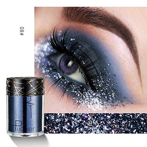 MODEOR Multipurpose Shimmer Glitter Eye Shadow Powder Palette Matte Eyeshadow Cosmetic Makeup - Long Lasting & Water-tight (H2)