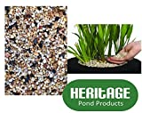 Heritage Pond Gravel 8 Litres (4-6mm) Pea Gravel Lilies Planting Baskets Margins Soil (8 Litres Pond Gravel)