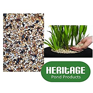 Heritage Pond Gravel 8 Litres (4-6mm) Pea Gravel Lilies Planting Baskets Margins Soil Heritage Pond Gravel 8 Litres (4-6mm) Pea Gravel Lilies Planting Baskets Margins Soil 61Fl7ruSezL