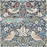 Schöne Kunst und Kunsthandwerk William Morris Eau de Nil Erdbeerdieb Strawberry Thief Vogel und Blume design 6