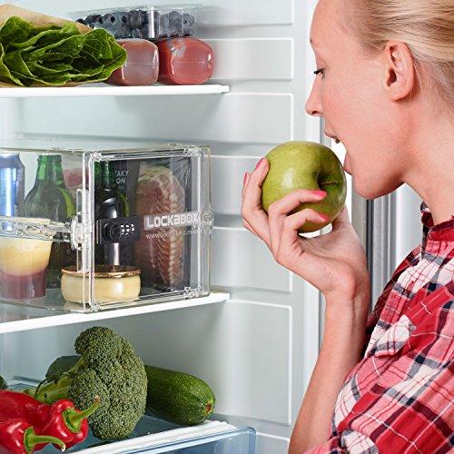 61FlBIybEYL - Lockabox One | Caja de seguridad compacta e higiénica para alimentos, medicinas y seguridad en el hogar