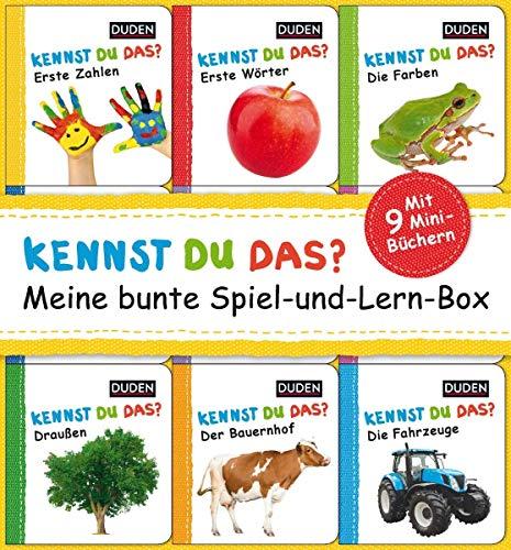 Kennst du das? Meine bunte Spiel-und-Lern-Box: ab 12 Monaten (DUDEN Pappbilderbücher Kennst Du das?) (Lern-spiele Zu Für Hause Kleinkinder)