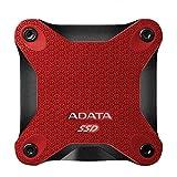 SSD Esterno 256GB Adata SD600 rosso [ASD600-256GU31-CRD] immagine