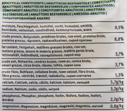 Yarrah Bio Hundesnack Vegetarische Kekse, 500 g, 2er Pack (2 x 500 g) - 2