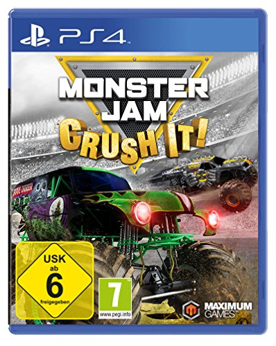 Monster Jam - Crush it! (Monster Truck Ps4)