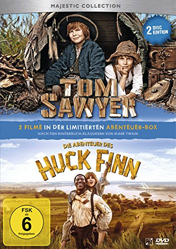 Tom Sawyer/Die Abenteuer des Huck Finn [2 DVDs]