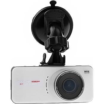 PushingBest 2.7 Zoll TFT LCD 170 Grad Weitwinkelobjektiv FHD 1080P Auto Kamera Dashcam DVR Recorder H.264 Camcorder car Video Überwachungskamera mit G-Sensor HDMI AV-Out (weiß)