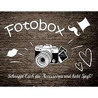 50x40 Fotobox Photo booth Schild Hochzeitsfoto-Schild Kunstdruck Tafel