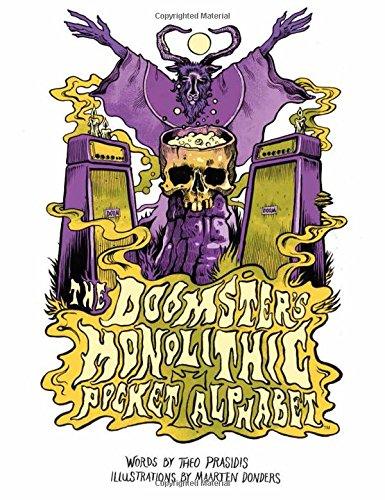The Doomster's Monolithic Pocket Alphabet por Theo Prasidis