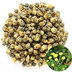 TooGet Chrysantheme-Knospen, Organische erstklassige Goldene Fötale Chrysantheme-Blumen getrockneter Kräutergroßhandel, kulinarische Nahrungsmittelklasse - 225g