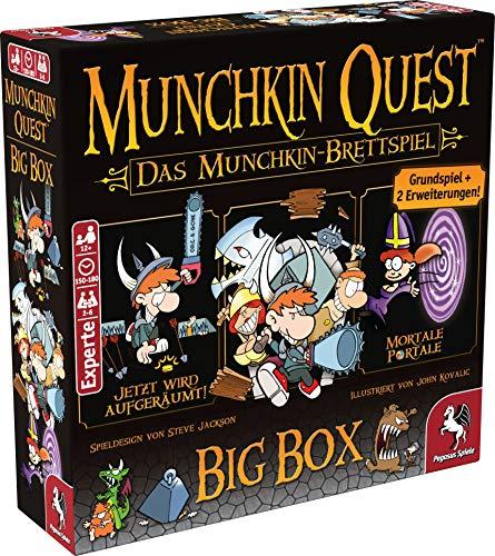 Munchkin Quest: Das Brettspiel, 2. Edition