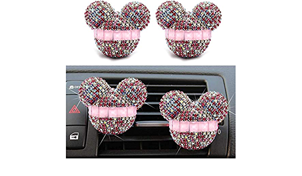 Zeenca Mickey Mouse Auto Duft Lufterfrischer Auto Vent Parfüm Diffusor Baumarkt