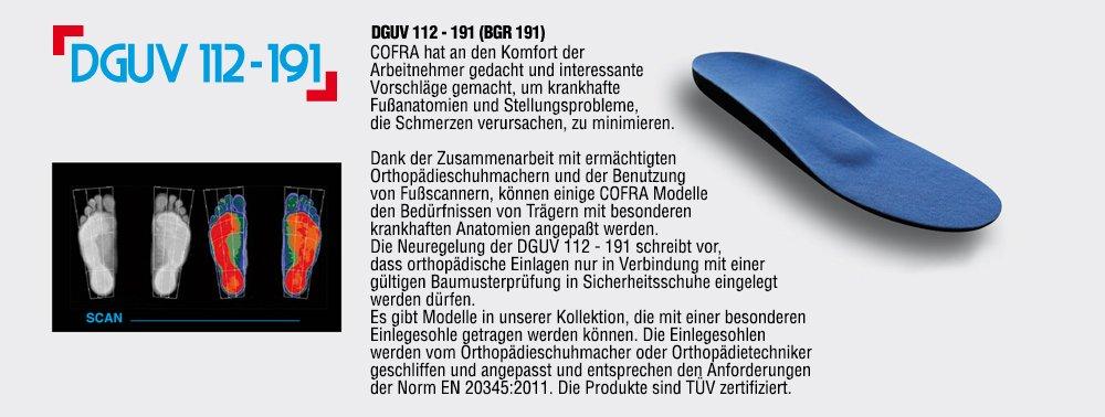COFRA Moderner Sicherheitshalbschuh Potency S1P ESD SRC, BOA System