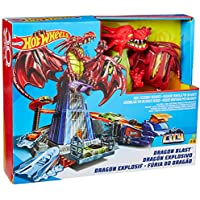 Hot Wheels- Hotwheels Monster High Juego Creativo Dragon Attack, Multicolor (Mattel DWL04)