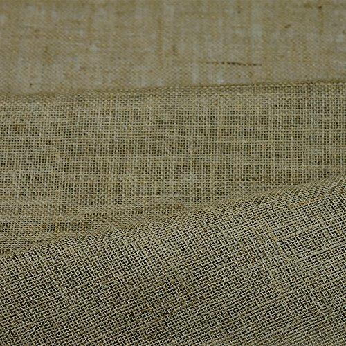 100% yute arpillera 10 oz tela de tapicería del arte jardín de 152,4 cm - ancho y se vende por metros...