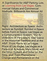 Learning From Las Vegas: Facsimile Edition