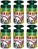 Dr. Stähler Arbin AF Dose, Wildtierabwehr Fernhaltemittel Gardopia Sparpakete + Zeckenzange mit Lupe (6 x 50 ml)