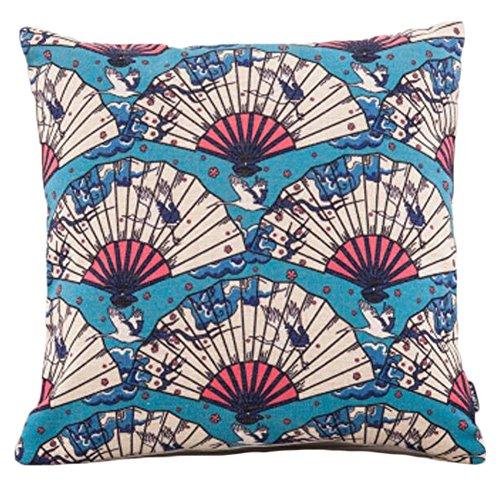 Black Temptation Style Japonais Coussin d'oreiller Confortable pour la Maison/Sushi Restaurant 45x45cm -A27