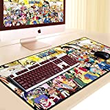 DS-L super - große mousepad, süße anime - spiel, mouse pad, schloss, dickere pad, naruto ein stück,orange - roten x444 sea king - park