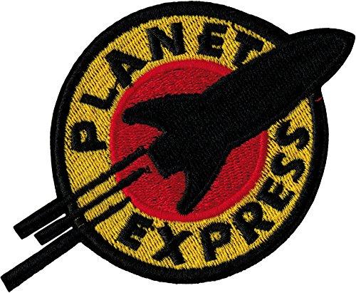 Futurama Planet Express Eisen nähen auf bestickt Patch Badge Kostüm Fancy dressapprox: 11,2cm/10,5cm x ca.: 7,6cm/7,5cm von MNC Shop (Futurama Kostüme)
