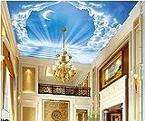 Best Cielo - Escaleras azules - Weaeo 3D Personalizado Murales En Los Techos Del Review