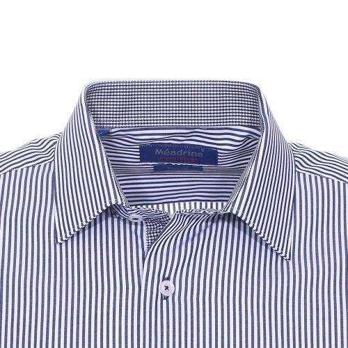 Méadrine - chemise Bleu