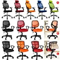Popamazing Multicolor Swivel Stylish Fabric Mesh Office Furniture Excutive Desk Chair New