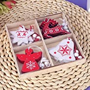 Set of 12 Christmas ornaments Christmas decorations Christmas tree decorations Christmas party decorations Roo