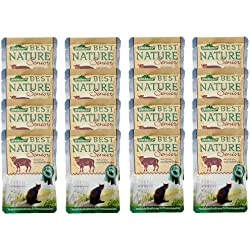 Dehner Best Nature Katzenfutter Senior, Lamm und Gerste, 16 x 85 g (1.36 kg)