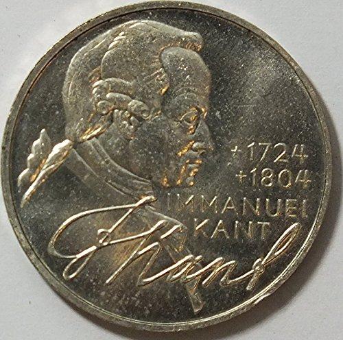 Preisvergleich Produktbild BRD (BR.Deutschland) Jägernr: 414 1974 D Stgl./unzirkuliert Silber 1974 5 DM Kant (Münzen für Sammler)