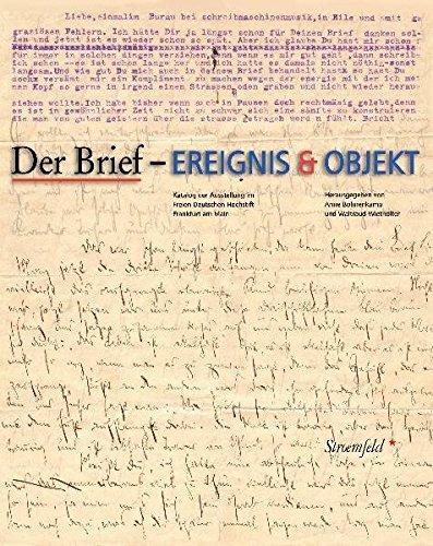 Der Brief - Ereignis & Objekt