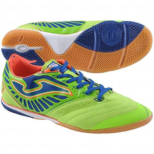 JOMA Supersonic 411 INDOOR Futsal Lemon Hallenschuhe, Größe:44;Farbe:grün