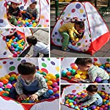 BINGHONG3 5.6cm 200pcs Colorful Fun Ball Soft Plastic Ocean Ball Baby Kid Toy Swim Pit Toy