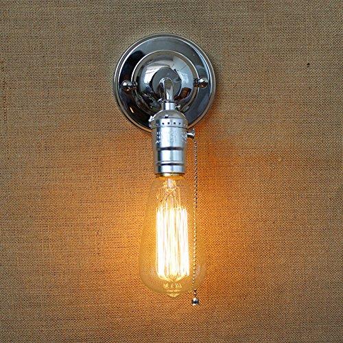 VanMe Industrielle Vintage Styles Wandleuchten Wandleuchten Aus Klarem Glas Lager Wand Leuchten Nachttischlampe