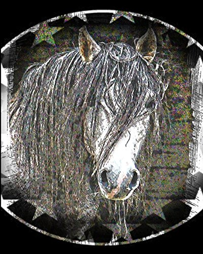 Horse Notebook: College Ruled - Lined Journal - Composition Notebook - Soft Cover Writer's Notebook or Journal for School  - College or Work - Mustang Horse Crazy Horse Rodeo