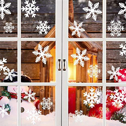 Pegatina Diseño copos Nieve Navidad Invierno Navidad